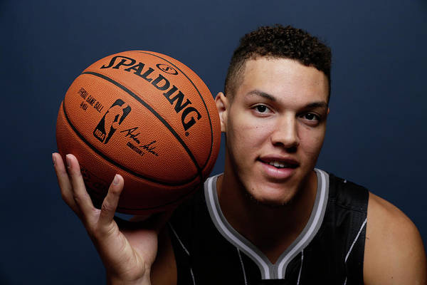 Madison Square Garden Photograph - 2014 Nba Rookie Photo Shoot by Steve Freeman