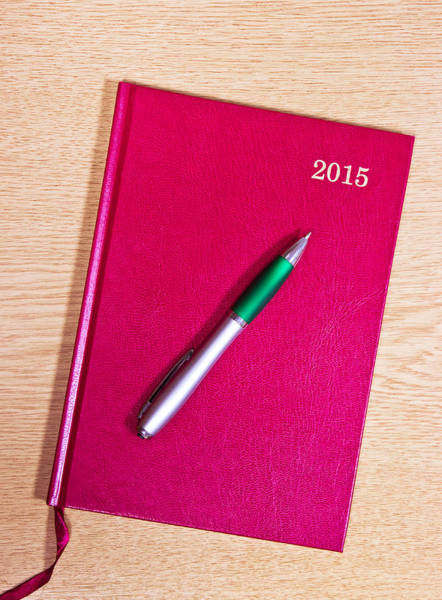 Annual Photograph - 2015 Diary by Tom Gowanlock
