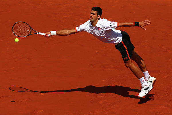 Open Photograph - 2015 French Open - Day Seven by Clive Mason
