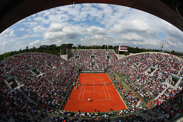 Open Photograph - 2015 French Open - Day Two by Clive Brunskill
