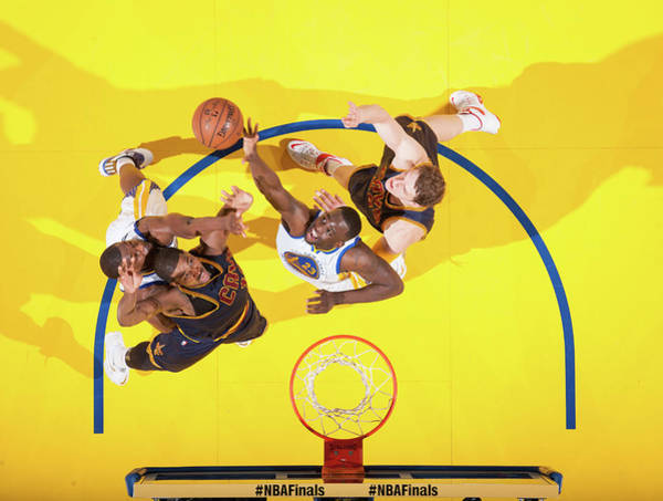 2015 Nba Finals - Game Two Art Print