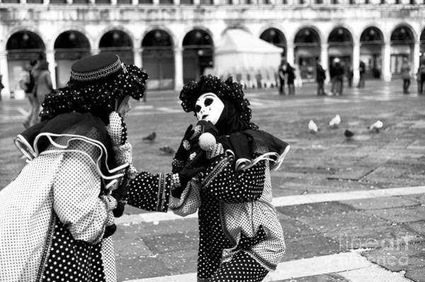 Photograph - 2015 Venice Carnival Scene Number Three by John Rizzuto