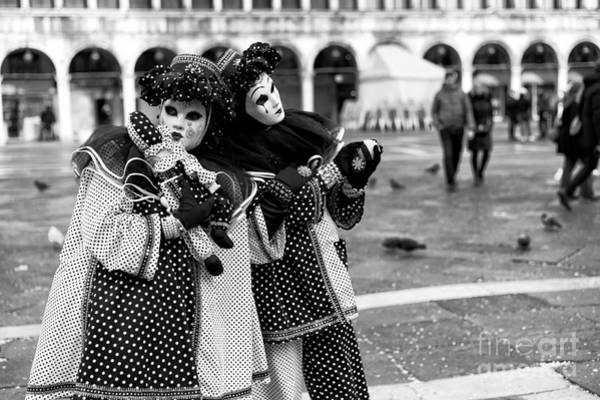 Photograph - 2015 Venice Carnival Scene Number Four by John Rizzuto