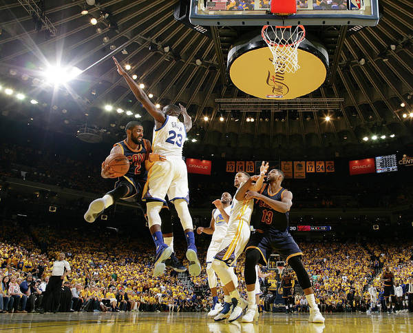 3f487680456c Kyrie Irving Photograph - 2016 Nba Finals - Game Two by Nathaniel S. Butler