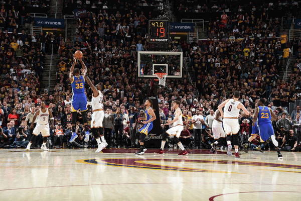 Usa State Photograph - 2017 Nba Finals - Game Three by Andrew D. Bernstein