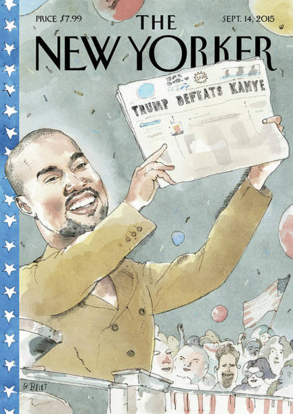Election Painting - 2020 Vision by Barry Blitt