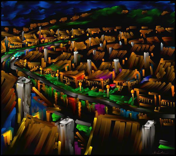 Wall Art - Painting - 204 Rainbow Lane - The American Dream by Steven Lebron Langston