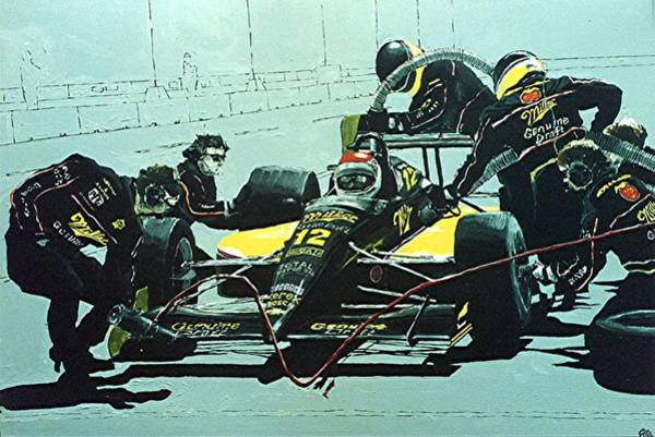 Wall Art - Painting - Automobile Racing by Paul Guyer