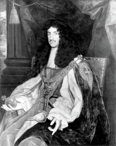 John Michael Wright Wall Art - Painting - Charles II (1630-1685) by Granger