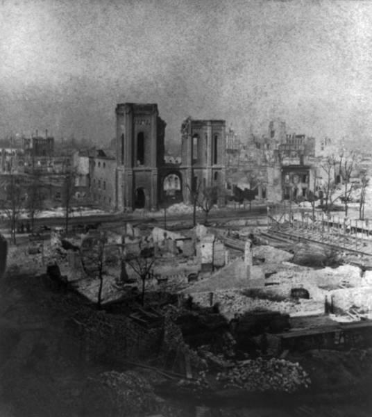 Wall Art - Photograph - Chicago Fire, 1871 by Granger