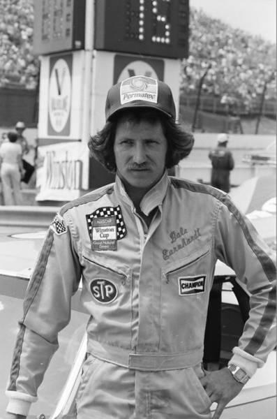 Daytona Photograph - Dale Earnhardt by Retro Images Archive