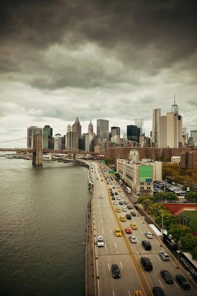 Wall Art - Photograph - Manhattan by Songquan Deng
