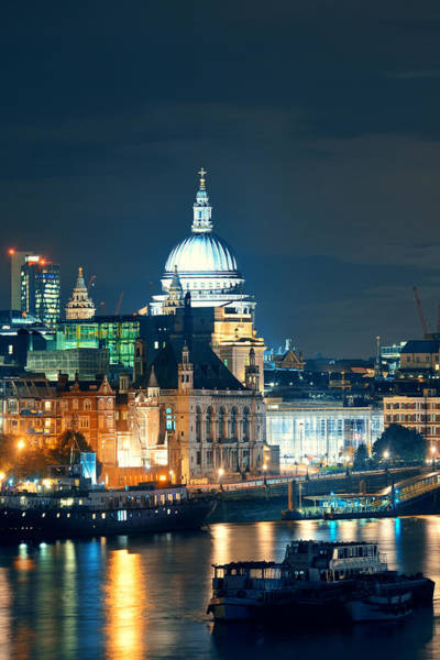 Wall Art - Photograph - St Paul's Cathedral by Songquan Deng
