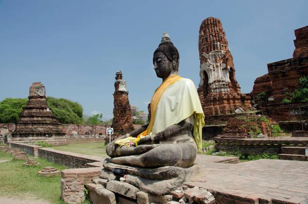 Southeast Asia Wall Art - Photograph - Thailand, Ayutthaya by Cindy Miller Hopkins