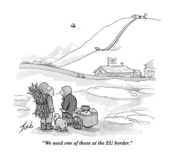 We Need One Of Those At The E.u. Border Art Print