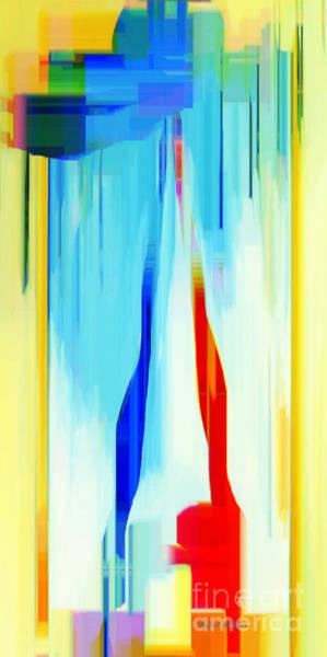 Digital Art - Abstract Series Iv by Rafael Salazar