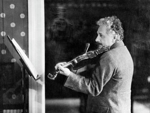 Jewish Music Wall Art - Photograph - Albert Einstein by Emilio Segre Visual Archives/american Institute Of Physics