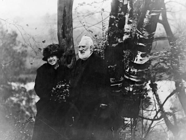 Photograph - Alexander Graham Bell (1847-1922) by Granger