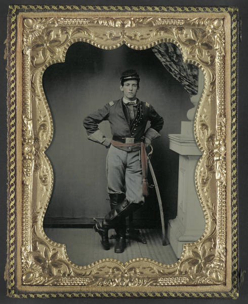 Wall Art - Photograph - Civil War Union Soldier by Granger