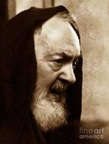 Padre Pio Wall Art - Photograph - Padre Pio by Archangelus Gallery