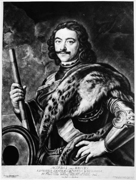 Wall Art - Painting - Peter I (1672-1725) by Granger