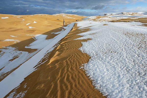 Wall Art - Photograph - Silver Lake Sand Dunes by Dean Pennala