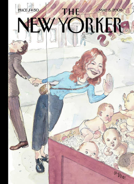 Relationship Painting - New Yorker May 5th, 2008 by Barry Blitt