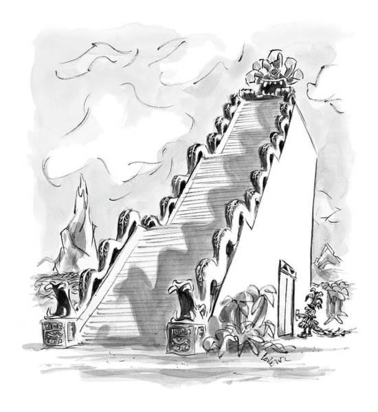 Invention Drawing - New Yorker June 12th, 2006 by Lee Lorenz