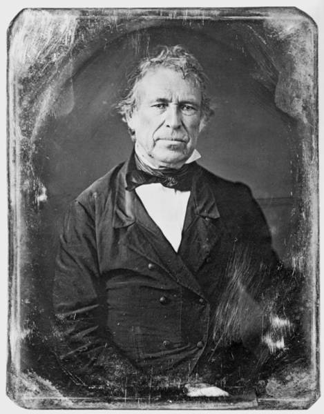 Wall Art - Photograph - Zachary Taylor (1784-1850) by Granger