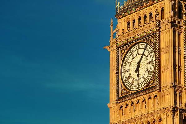 Photograph - Big Ben Closeup by Songquan Deng