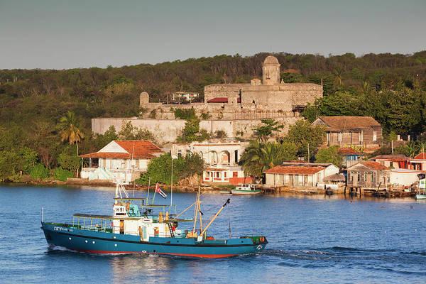 Bahia Photograph - Cuba, Cienfuegos Province, Cienfuegos by Walter Bibikow
