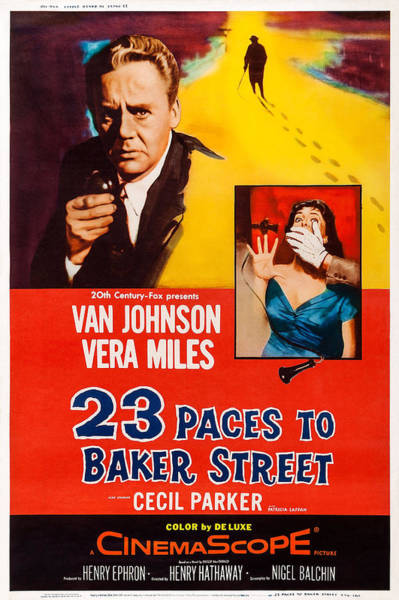 Van Johnson Photograph - 23 Paces To Baker Street, Us Poster by Everett
