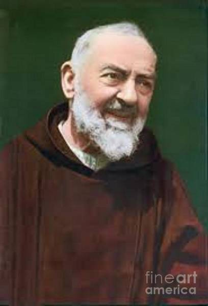 Pio Photograph - Padre Pio by Archangelus Gallery
