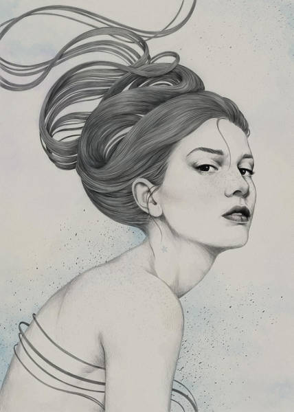 Hair Digital Art - 230 by Diego Fernandez