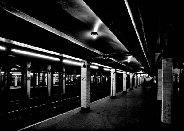 Wall Art - Photograph - 23rd Street Station by Benjamin Yeager
