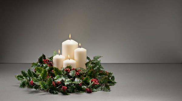 Photograph - Advent Wreath by U Schade
