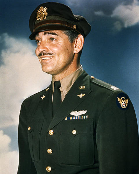 Clark Gable Wall Art - Photograph - Clark Gable by Silver Screen