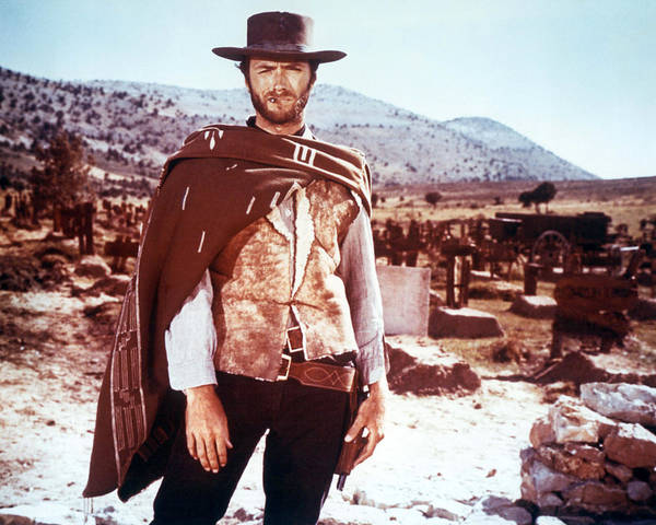Clint Eastwood Photograph - Clint Eastwood by Silver Screen