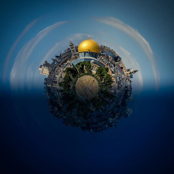 Wall Art - Photograph - 24 Hours In Jerusalem by David Morefield