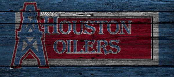 Wall Art - Photograph - Houston Oilers by Joe Hamilton