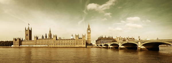 Photograph - London Skyline by Songquan Deng