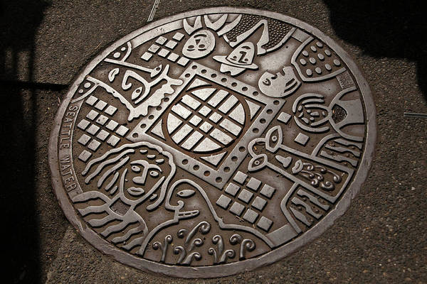 3a81db648 Manhole Wall Art - Photograph - North America, United States by John and  Lisa Merrill