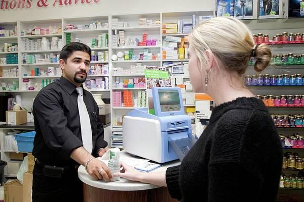 Wall Art - Photograph - Pharmacist by Mark Thomas/science Photo Library