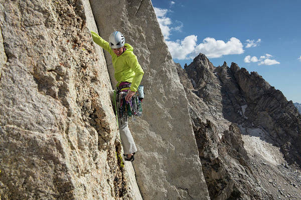 Climbing Photograph - Rock Climbing Lifestyle Sierras by Jason Thompson