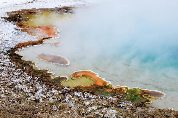 Carbonate Photograph - Usa, Wyoming, Yellowstone National Park by Jaynes Gallery