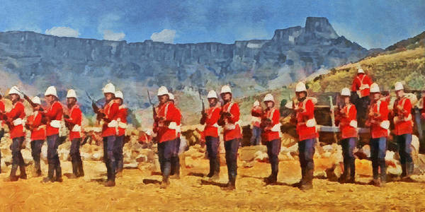 Digital Art - 24th Regiment Of Foot - En Garde by Digital Photographic Arts