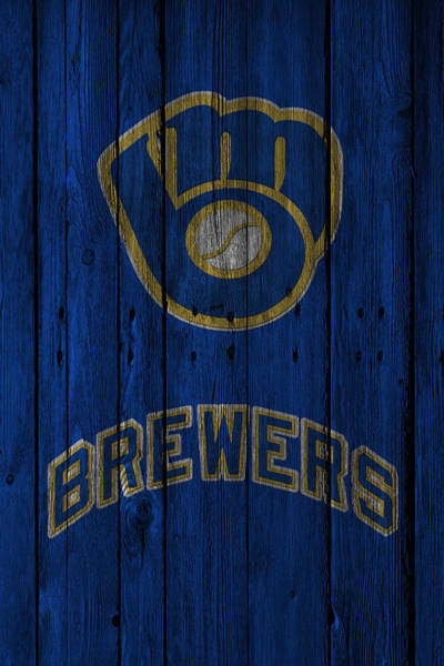 Outfield Wall Art - Photograph - Milwaukee Brewers by Joe Hamilton