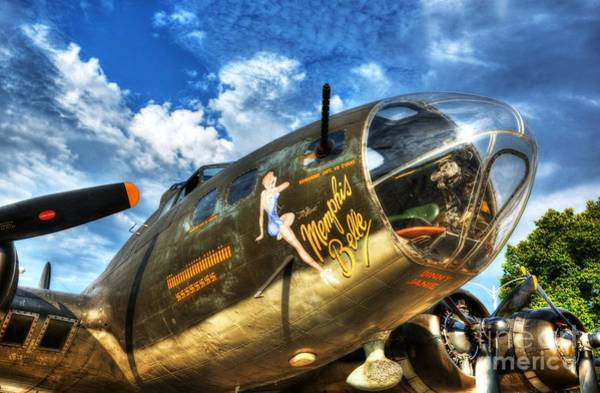 Radial Engine Photograph - 25 Missions by Mel Steinhauer