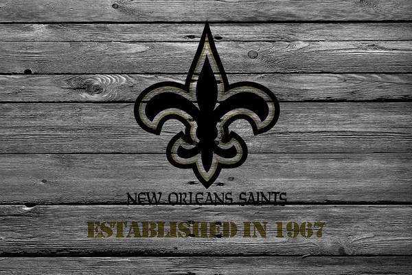 Wall Art - Photograph - New Orleans Saints by Joe Hamilton