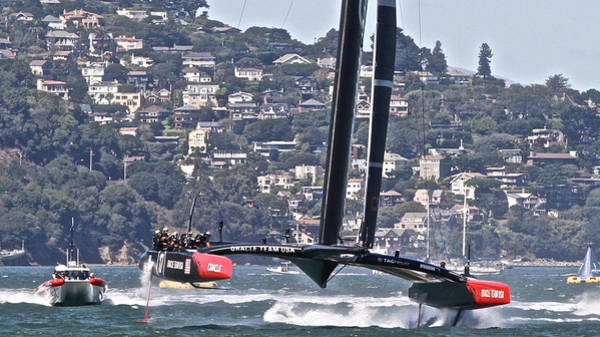 Photograph - America's Cup Winner Oracle by Steven Lapkin